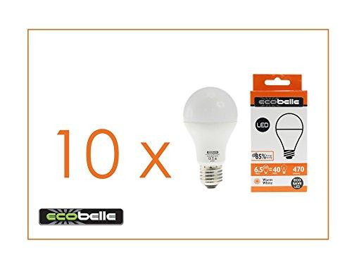 ecobeller-10-x-lampadine-led-e27-a60-65w-pari-a-40w-470-lumen-bianco-caldo-2700k-confezione-convenie