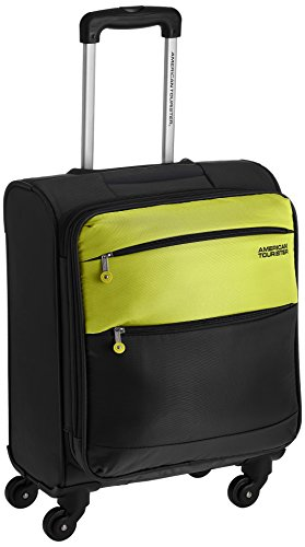 American Tourister Cheer-Lite  Polyester 50 centimeters Olive and Yellow Soft Sided Carry-On (R28 (0) 26 001)