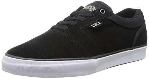 C1RCA Men's Goliath Skate Shoe, Black/Mink, 11 M US