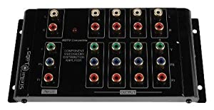 1x4 Component Video Distribution Amplifier / Splitter