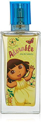 Dora The Explorer by Nickelodeon For Women. Adorable Eau De Toilette Spray 3.4 Oz / 100 Ml. - 1