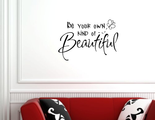 Quotes decals for easy bedroom wall decorating easy for Home decor quotes on wall