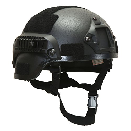 HYOUT Tactical Helmet Explosion Proof Helmet CS Game Helmet Cycling Helmet New Version (Military Modular Headset compare prices)
