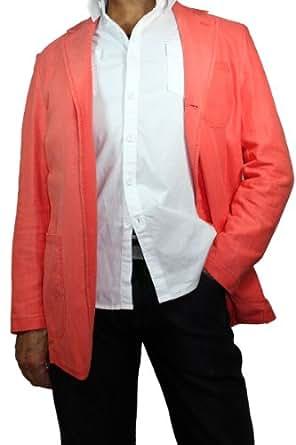 Newboxer by Rodrigo Sakko/-Blazer Leinen Look hummerfarben in 54