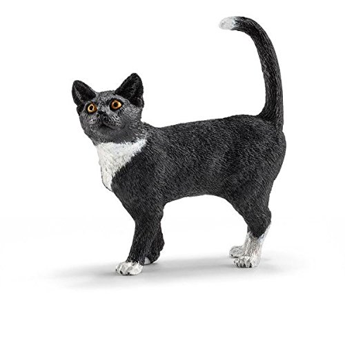 Schleich Cat, Standing Toy Figure