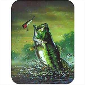 "Amazon.com: Tuftop Bass Cutting Board Size: Small (9""x12"
