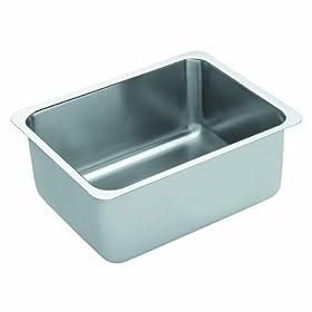 Moen 22356 Stainless Steel Single Bowl Kitchen Sink