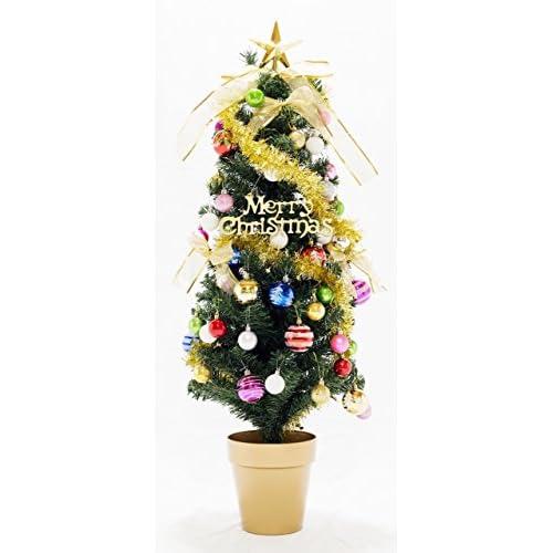 QOLCA クリスマス オーナメント ボール 3cm 24個入り(ミックスカラー)