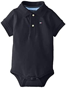 Tommy Hilfiger Baby-Boys Infant Short Sleeve Ivy Bodysuit from Tommy Hilfiger