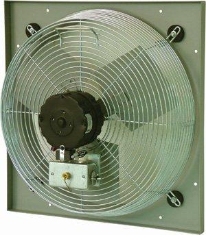 TPI CE 12-DV 12'' Venturi Mounted Direct Drive Exhaust Fan