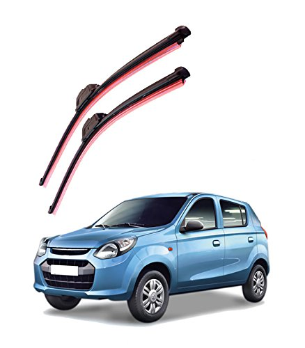 Autofurnish Frameless Silicon Wiper Blades for Maruti Suzuki Alto (D)18″ (P)16″