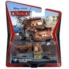 Disney Cars 2 V2798 Race Team Mater Martin Hook - Die Cast Fahrzeug Cars2 - N...