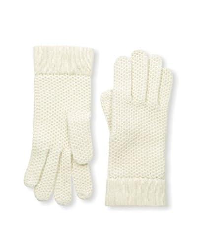 Portolano Women's Knit Gloves, Yogi Ivory