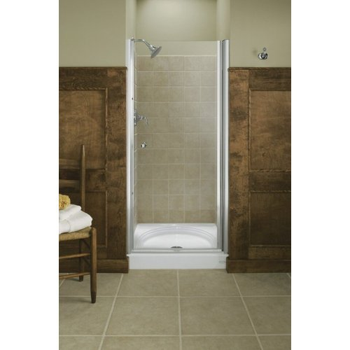 KOHLER K-702400-L-SH Fluence Frameless Pivot Shower Door, Bright Silver (Kohler Tub Shower Doors compare prices)