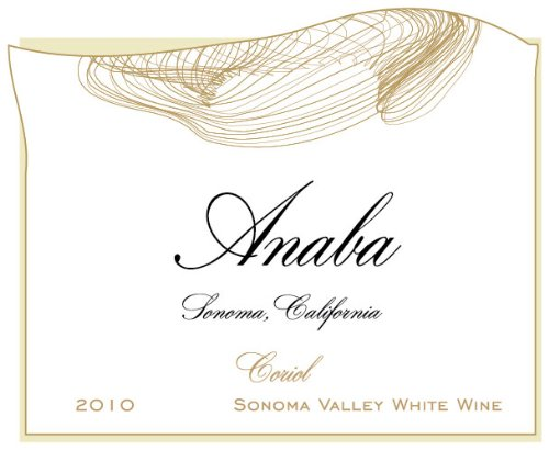 2010 Anaba Coriol White Rhone Blend White Wine