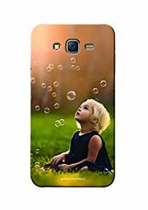Sowing Happiness Printed Back Cover for Samsung J7