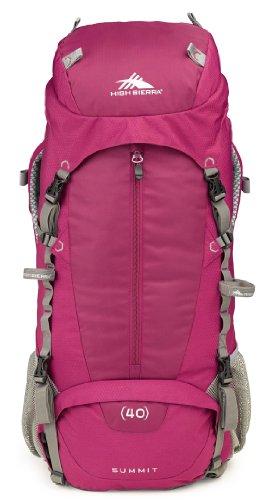 High Sierra Women'S Summit 40 Internal Frame Pack, Boysenberry/Boysenberry/Ash front-991091