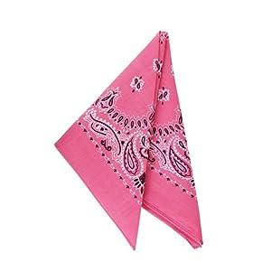 "19"" Neon Pink Bandana - (1 DZ)"