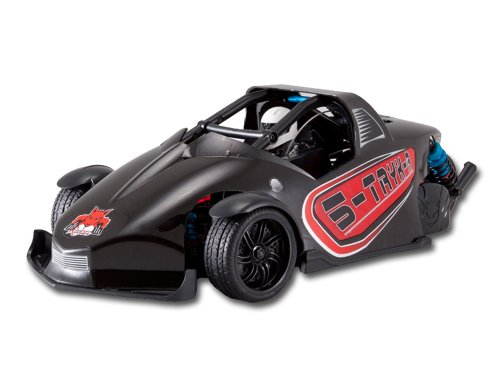 Redcat Racing S-Tryk-R Brushed Electric Car, Black, 1/10 Scale