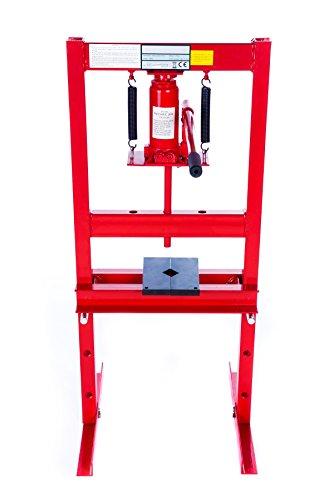 6T-Werkstattpresse-Hydraulikpresse-Presse-hydraulisch-Rahmenpresse-Lagerpresse