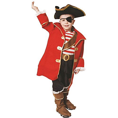 Pirate Captain Deluxe Kids Costume