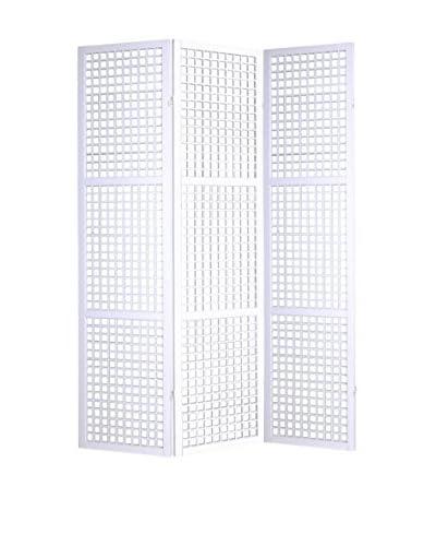 Screen Gems Eternal Squares Screen, White