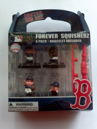 Boston Red Sox Forever Squisherz Collectibles Bag Charm / Bracelet