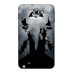 Special Day Grey Knight Multicolor Back Case Cover for Galaxy Note