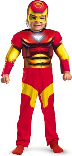 Iron Man Toddler Muscle Costume