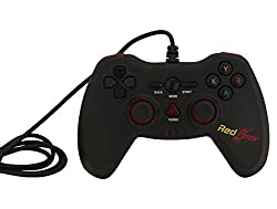 Redgear Highline 3607 Wired Gaming Controller (Black)