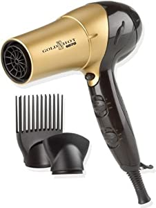 Gold N Hot Gh2257 Professional 1875 Watt Ionic Dryer with Tourmaline