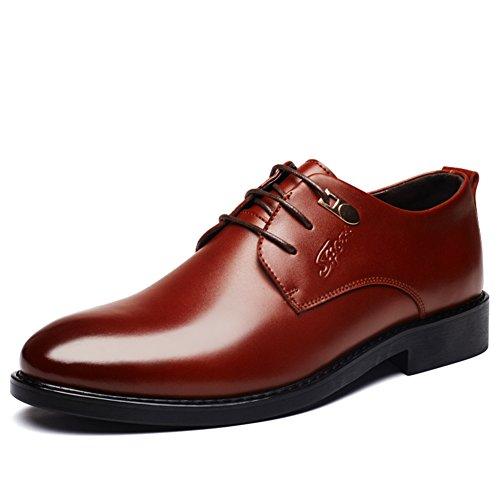 scarpe da sera da uomo/Scarpe da uomo/Pelle gioventù Inghilterra/Affari ha scarpe da sposa-B Lunghezza piede=23.3CM(9.2Inch)