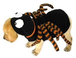 halloween hund kost m spinne in schwarz lila mit langen biegsamen beinen und gro en augen. Black Bedroom Furniture Sets. Home Design Ideas