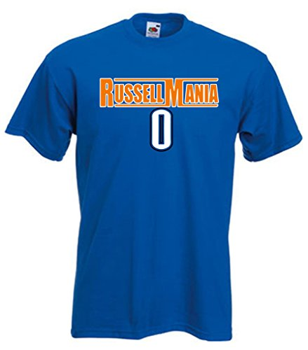 Kd and westbrook for Custom t shirts okc