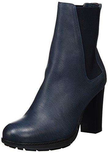 Fred de la BretoniereFred Chelsea Boot 9cm Absatz - Stivaletti Donna , Blu (Blu (Blu)), 38 EU