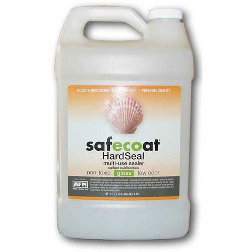 Afm Safecoat Hard Seal, White Gallon Can 1/Case (Safecoat Hard Seal compare prices)
