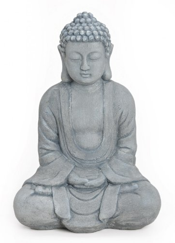 herrlicher gro er buddha feng shui in exklusivfarbe m nch. Black Bedroom Furniture Sets. Home Design Ideas
