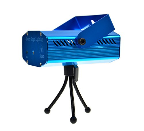 Voice-Activated Led Mini Stage Light Holographic Laser Star Projector Club Dj Disco Bar Stage Light Fda & Amazon Standards Laser Type