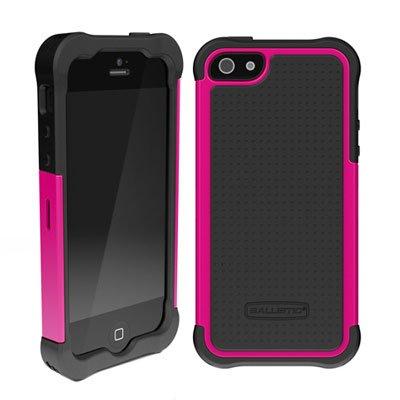 Ballistic Case [正規輸入品] 【iPhone5専用】 3層ハイブリット構造耐衝撃ケース Ballistic SG Series iPhone5 Hot Pink/Black au SoftBank バリスティックケース アイフォン5 ケース ホットピンク/ブラック
