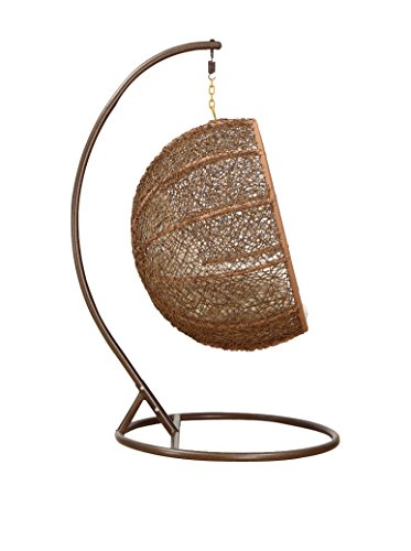Ceets Zolo Hanging Lounge Chair Set, Natural