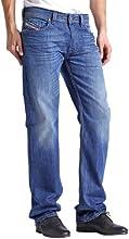 Comprar Diesel Hombre Larkee 8XR Straight Jeans, Azul