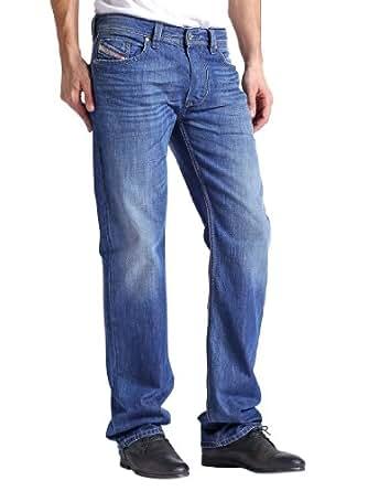 Diesel - Bleu Larkee 8XR Straight Jeans - Homme - Taille: W32-L34