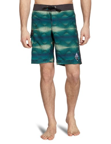 Reef Diamond Waves Men's Swim Shorts Mint Medium