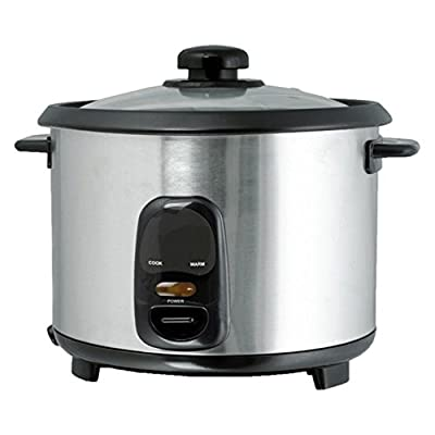 Brentwood TS-20 10 Cup Rice Cooker - Stainless Steel by Brentwood Appliance Inc