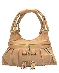 Vintage Stylish Ladies Handbag Beige(bag 118)