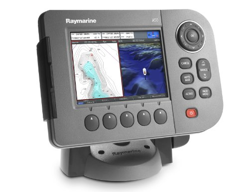 Raymarine A50 E62184 5-Inch Marine GPS Navigator and Chartplotter without Map