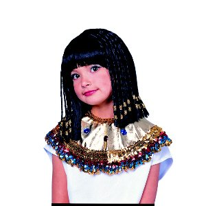 Princess of Egypt Wig Egyptian Child Halloween Costume Accessory