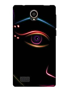 TREECASE Designer Printed Soft Silicone Back Case Cover For Reliance Jio Lyf Flame 7