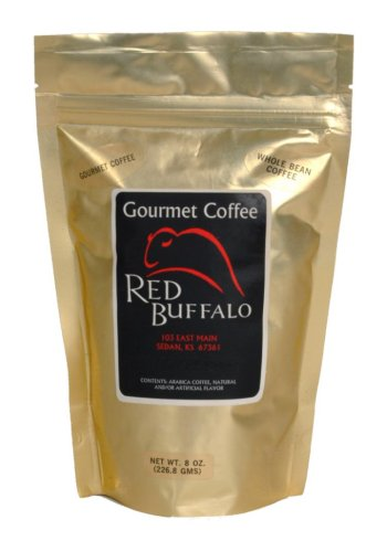 Red Buffalo Angel Lace Cookie Flavored Coffee, Whole Bean, 1 pound