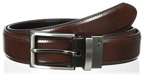 dockers-mens-32mm-feather-reversible-stitch-belt-brown-black-34